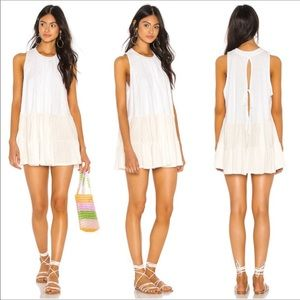 Free People Right on Time Tunic Tank Top Dress FP